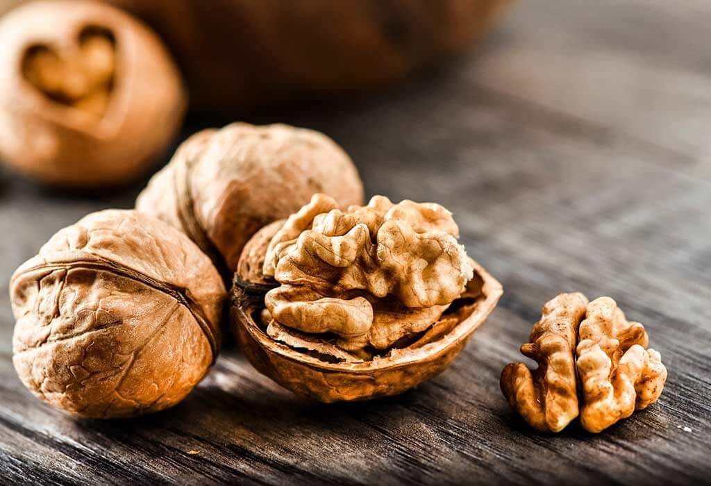 foods that increase sperm count naturally - Walnuts