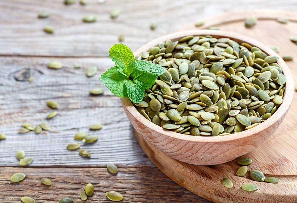 foods that increase sperm count naturally - pumpkin seeds