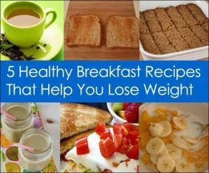 breakfast foods for weight loss