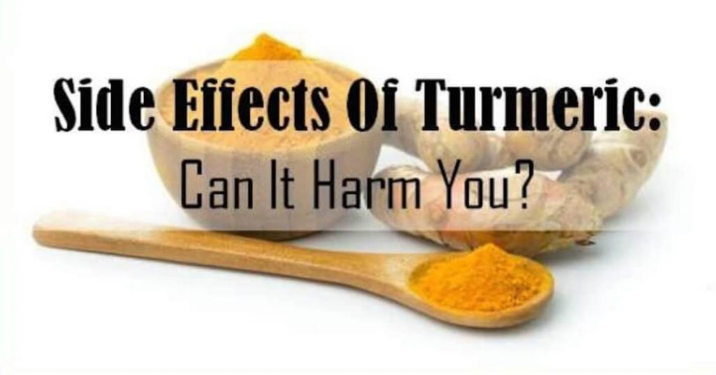 Negative Side Effects of Turmeric