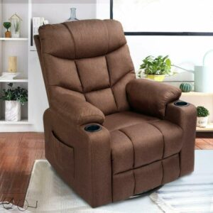 Esway Grey Fabric Massage Recliner Chair Review